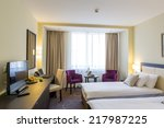 Stock photo hotel room interior 217987225