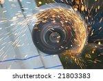 welding metal | Shutterstock . vector #21803383