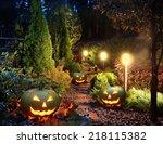 Illuminated Home Garden Path...