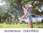 multi generation family... | Shutterstock . vector #218149822