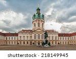 palace charlottenburg | Shutterstock . vector #218149945