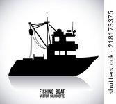Boat Graphic Design   Vector...