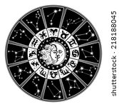 The Horoscope Circle With ...