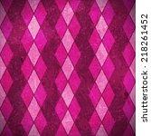 geometric pattern made of... | Shutterstock . vector #218261452