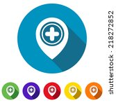 beautiful medical title web icon | Shutterstock .eps vector #218272852
