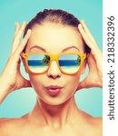 travel  vacation  summer... | Shutterstock . vector #218332396
