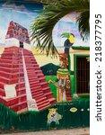 ahuachapan  el salvador   may... | Shutterstock . vector #218377795