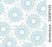 vector seamless pattern ...   Shutterstock .eps vector #218387635