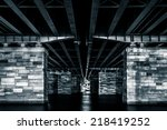 Under A Bridge At Night  In...