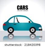 cars design over white... | Shutterstock .eps vector #218420398