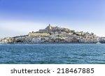 Ibiza Eivissa Old Town With...