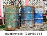 oil tanks | Shutterstock . vector #218483965