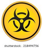 biohazard symbol. virus ...   Shutterstock .eps vector #218494756