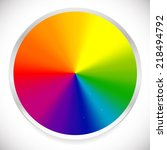 Color Wheel  Circular Color...