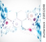 abstract business background... | Shutterstock .eps vector #218512048