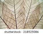 details of paper handmade from... | Shutterstock . vector #218525086