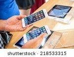 paris  france   september 20 ...   Shutterstock . vector #218533315
