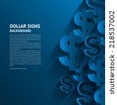Vector Illustration. Dollars...
