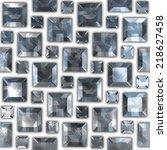 gems. seamless background. | Shutterstock . vector #218627458