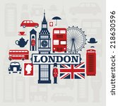 Vector Set Of London City