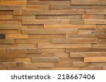wood material wood plank wall... | Shutterstock . vector #218667406