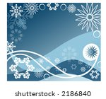 winter background frame series   Shutterstock .eps vector #2186840