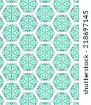 retro abstract pattern | Shutterstock . vector #218697145