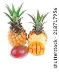 exotic diet food   set of lot... | Shutterstock . vector #218717956