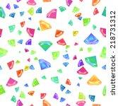 gemstone seamless pattern for... | Shutterstock . vector #218731312