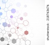 network color technology... | Shutterstock .eps vector #218763676