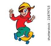 skateboard | Shutterstock .eps vector #21879715