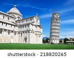 leaning tower  pisa  italy | Shutterstock . vector #218820265