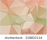 abstract geometric background... | Shutterstock .eps vector #218822116