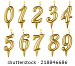 Birthday Candles Number Set...