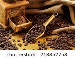Old Mechanical Coffee Grinder ...