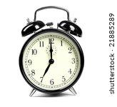 alarm clock | Shutterstock . vector #21885289