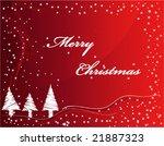 christmas card | Shutterstock .eps vector #21887323