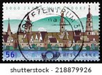 Germany   Circa 2002  A Stamp...