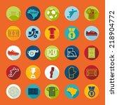 football  soccer infographic | Shutterstock . vector #218904772