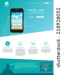travel application website...