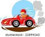 race car driver | Shutterstock .eps vector #21894163