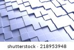 3d background of a plane of... | Shutterstock . vector #218953948