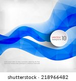 abstract template background | Shutterstock .eps vector #218966482