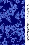 pattern of hibiscus | Shutterstock .eps vector #219008416