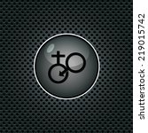 male female symbol. internet... | Shutterstock .eps vector #219015742