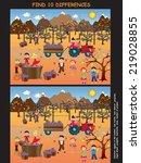 game for children  find ten...   Shutterstock . vector #219028855
