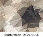 abstract geometric background... | Shutterstock .eps vector #219078016