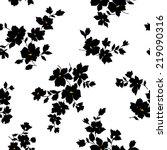 flower pattern | Shutterstock .eps vector #219090316
