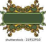 clean and exquisite color panel ... | Shutterstock .eps vector #21912910