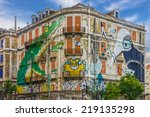 Lisbon Street Art. Graffiti...